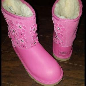 Pink Azalea Classic Short II Petal Leath